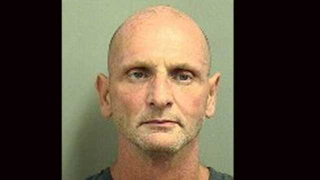 Jerry Moss is accused of threatening to detonate a bomb during a robbery at the Fifth Third Bank in Boca Raton.
