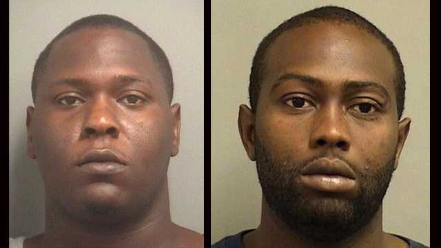 Kashus Davis and Timothy Anderson were arrested after police say they led authorities on a chase in Boynton Beach.