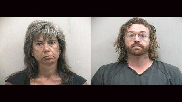 Brigitte Monet and her boyfriend, Zachary Sly, are accused of making methamphetamine in their Stuart hotel room.