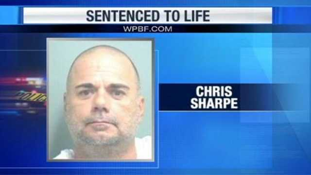 Christopher Sharpe lived inside his home with his girlfriend's decomposing body for more than two weeks after he killed her in 2009.