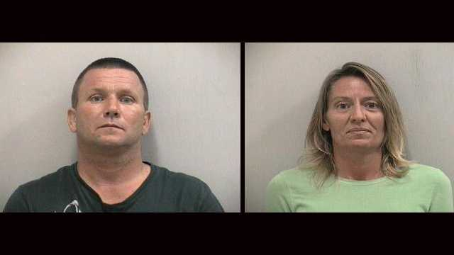 Robert and Dawn Fox are accused of stealing merchandise from stores and returning them for gift cards that they pawned for half the value.