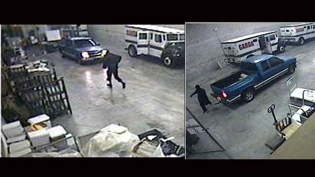 The FBI has released these surveillance photographs of a Garda armored truck robbery that happened Sept. 15 in Riviera Beach.