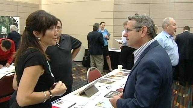 A job fair at the Palm Beach County Convention Center in West Palm Beach tailored for veterans and their spouses is part of a nationwide effort to put our nation s heroes back to work.