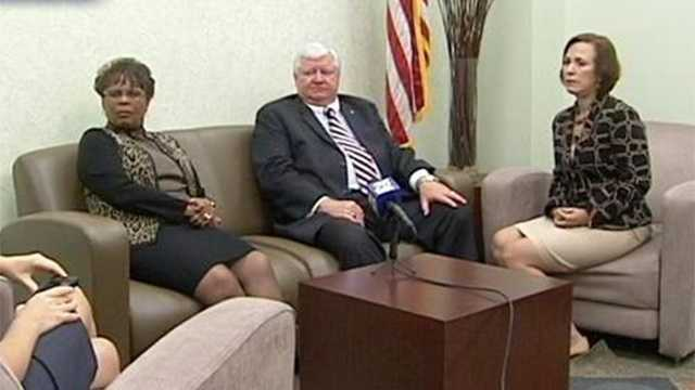 A trio of state Supreme Court justices visited Palm Beach County on Friday. (Photo: Kaan Pala/WPBF)