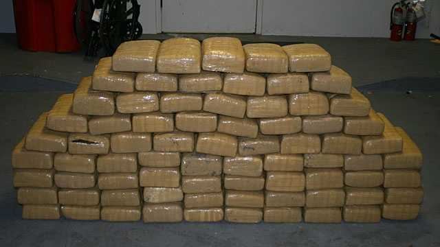 400 pounds of marijuana