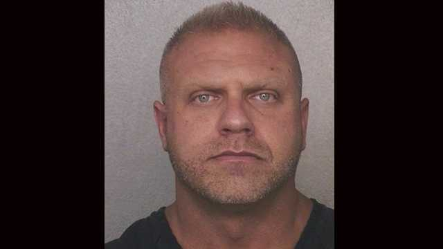 Florida Department of Law Enforcement investigators say Broward Sheriff's Office Deputy Mathew Eisenberg punched a handcuffed suspect in the face and then wrote that he tried to get away.