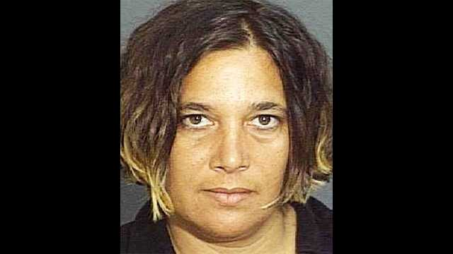Donna Angelo is accused of punching a mailman in her neighborhood.