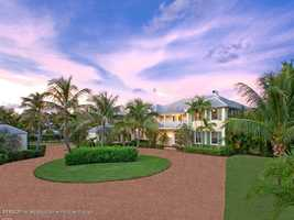 Take a tour of this $4.5 million mansion with five bedrooms, seven bathrooms located in West Palm Beach, FL featured on realtor.com