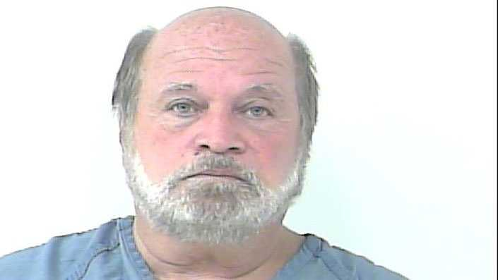Carl Pecoraro Jr. is accused of groping at least three employees and one customer at a Port St. Lucie Walmart.