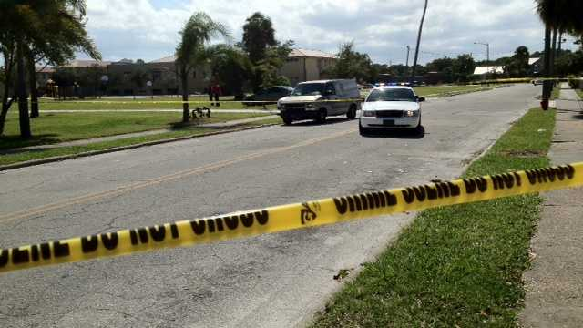 A gunfight in Fort Pierce had an unintended consequence Friday. A bullet went into a school nearby. (Photo: Randy Gyllenhaal/WPBF)