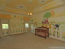 Endless possibilities with this adorable nursery space. For more details visit Realtor.com