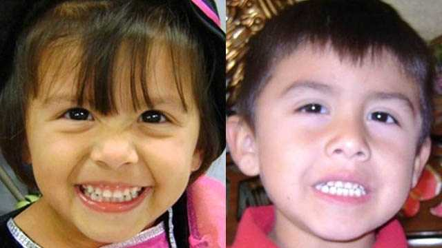 Cristina & Paris Santana, ages now 5 and 6: Missing from Old Town. Cristina and Paris were allegedly abducted by their mother, Jamie Beadle, on Nov. 26, 2011. A felony warrant was issued for Jamie on January 3, 2012. They may have left the area.