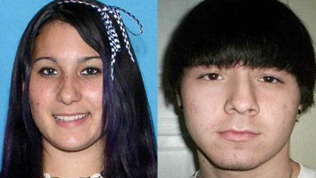 Crystal Russell and Tyler Smith, ages 17 and 16: Missing from Clearwater. Crystal and Tyler may still be in the local area or they may travel to Lake Wales, Florida. Crystal may go by the alias name Nikki. Both have been missing since Aug. 8, 2012 and are endangered runaways.