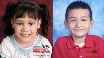 Melanie and Jordan Estrada-Rodriguez, ages now 4 and 6: Missing from Tampa.  Melanie's photo is shown age-progressed to 3 years and Jordan's photo is shown age-progressed to 6 years. They may be in the company of an adult female relative. They may have traveled to Texas.