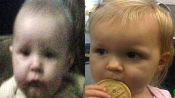 Raiden and Sakari Lynn, ages 8 months and 2: Missing from DeLand.  Sakari and Raiden may be in the company of their father, Marc Lynn. A felony warrant is on file for Marc. They may also be in the company of their mother.