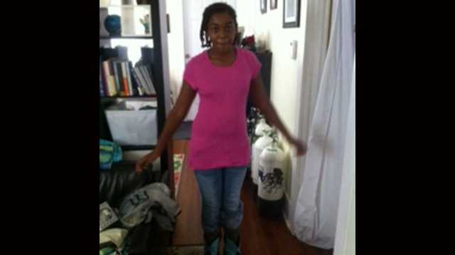 Tatiana was last seen in Lake Worth on Wednesday morning.