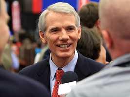 Ohio Sen. Rob Portman. (Photo: John P. Wise/WPBF)