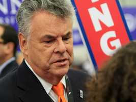 Rep. Peter King, of New York. (Photo: John P. Wise/WPBF)