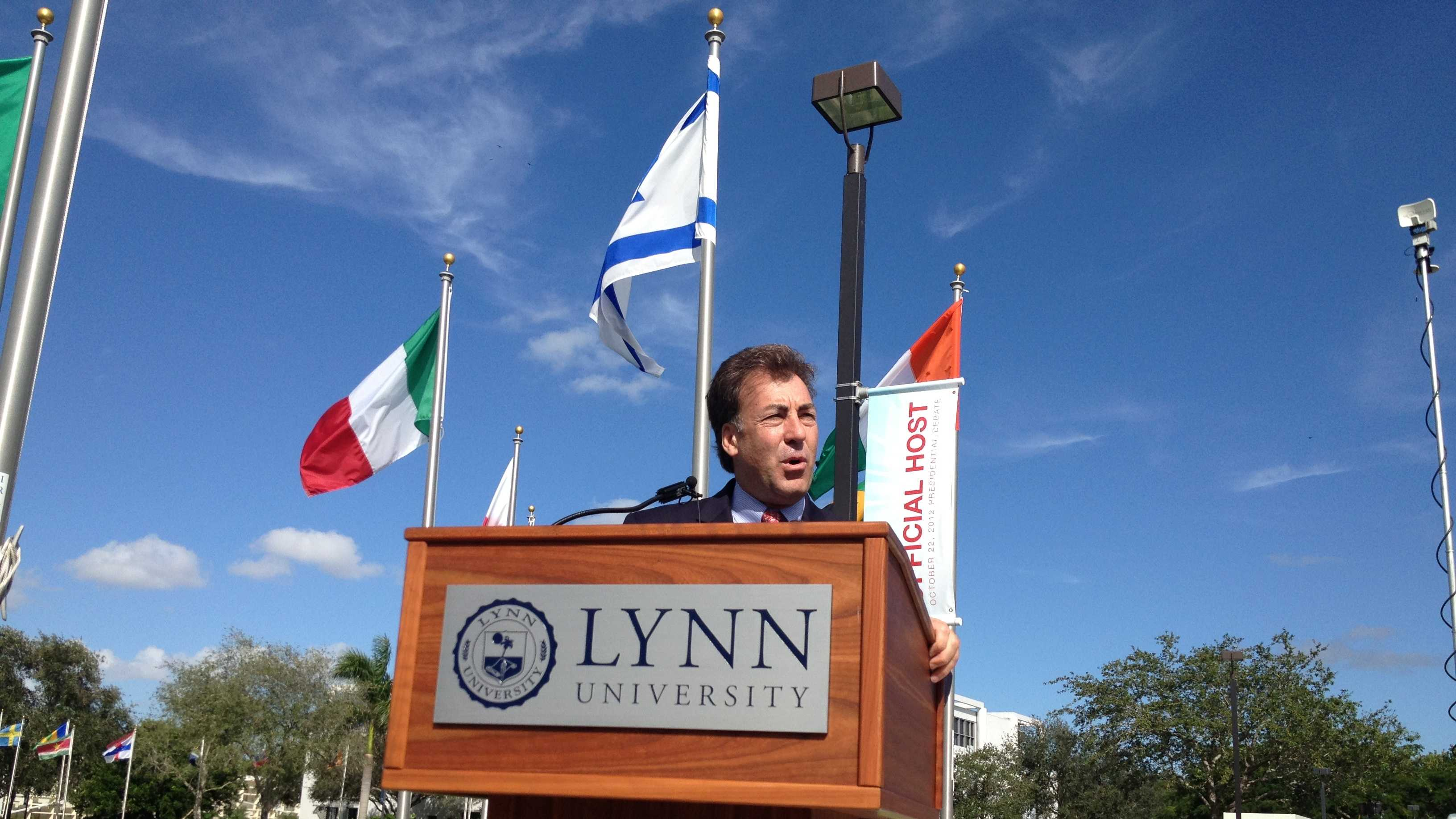 Greg Malfitano, Lynn University's senior vice chairman for administration, called the final presidential debate a success.