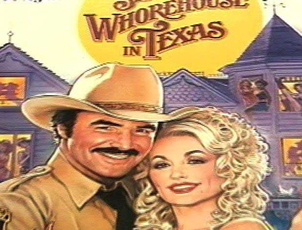 """Reynolds starred opposite Dolly Parton in 1982's """"The Best Little Whorehouse in Texas."""" A carriage she made for him was among the many items on display at the museum."""