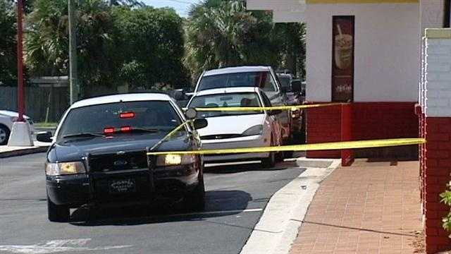 Police are investigating a stabbing at a McDonald's in Palm Springs.