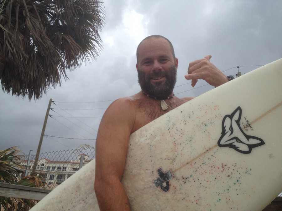 Hang ten, brah! (Photo: Chris McGrath/WPBF)