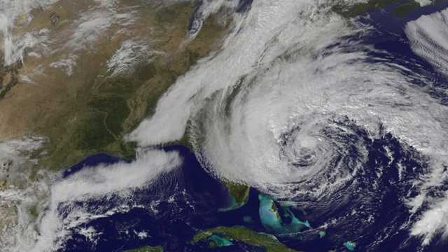 deadliest hurricanes - Hurricane Sandy intro