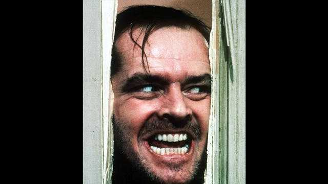 "Jack Nicholson played The Overlook Hotel caretaker Jack Torrance in Stanley Kubrick's 1980 psychological thriller ""The Shining."""