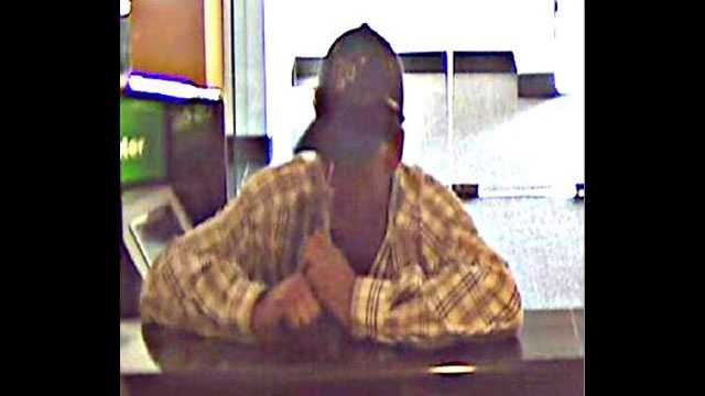 Police say this man tried to rob the TD Bank branch on Lake Worth Road in Greenacres.