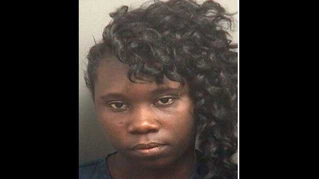 Darline Prudhomme is accused of using an elderly woman's debit card to make unauthorized purchases.