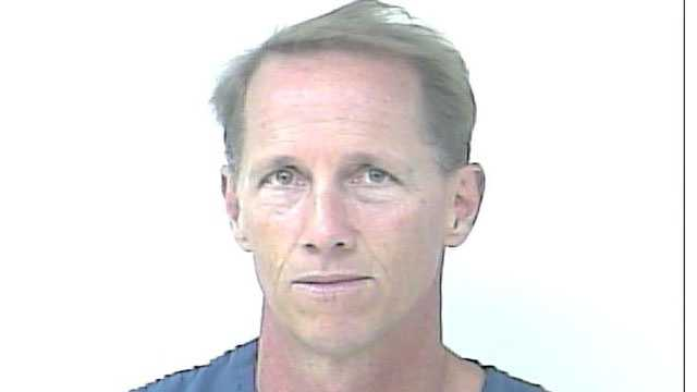 Robert Smith is accused of stealing auction items from the Sunrise Theatre in Fort Pierce.