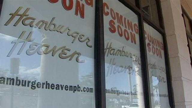 Hamburger Heaven front door exterior
