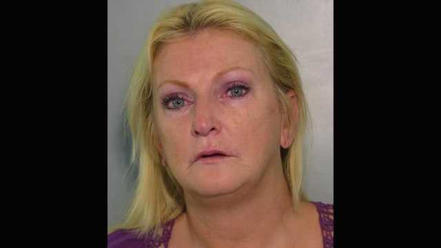Charlotte County sheriff's deputies say Kimberly Maroney was hiding crack cocaine in her dentures.