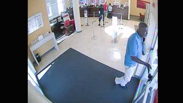 Detectives say this man robbed a Wells Fargo branch on Community Drive in West Palm Beach on Nov. 8.