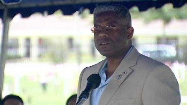 Rep. Allen West challenges the recount on the Treasure Coast, and said on Nov. 11 that it's a sham.