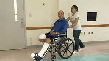 """Angel Soto said he couldn't feel his legs after being struck by a Porsche, looked down and saw """"a bloody mess."""""""