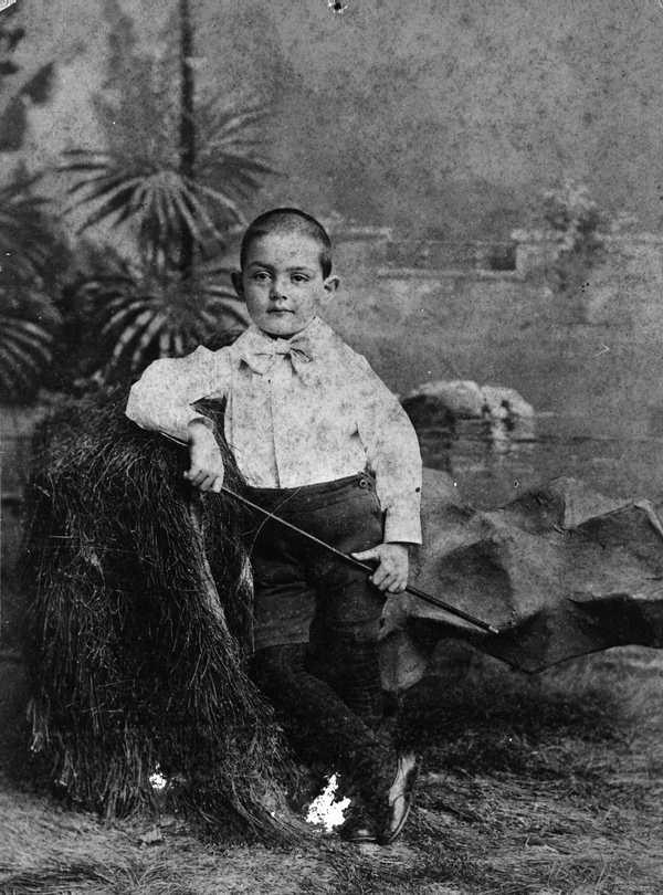 David Maas Brown Jr., in the late 1890s in Tampa.
