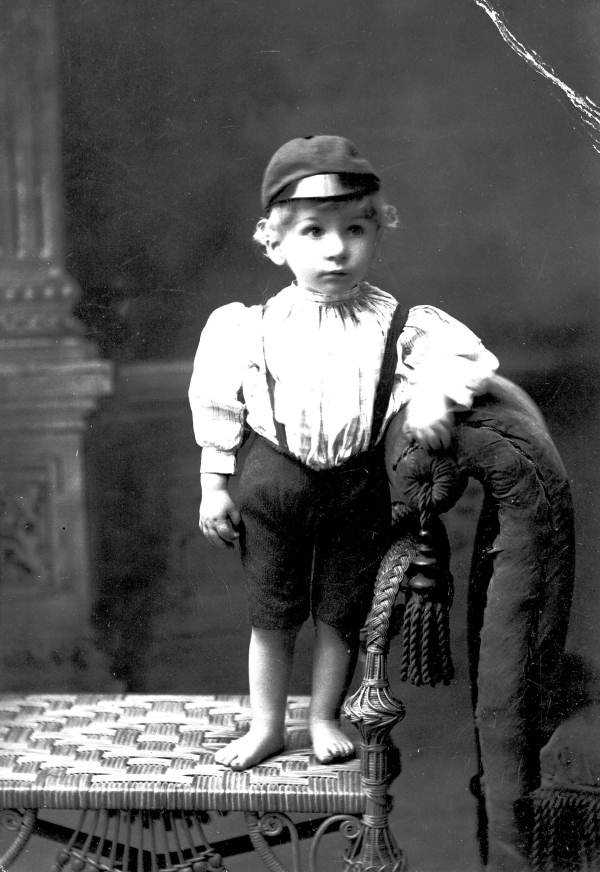 Miller, the son of Frank and Oliveta Watson, was 18 months old when this was photographed in the 1800s near Tallahassee.