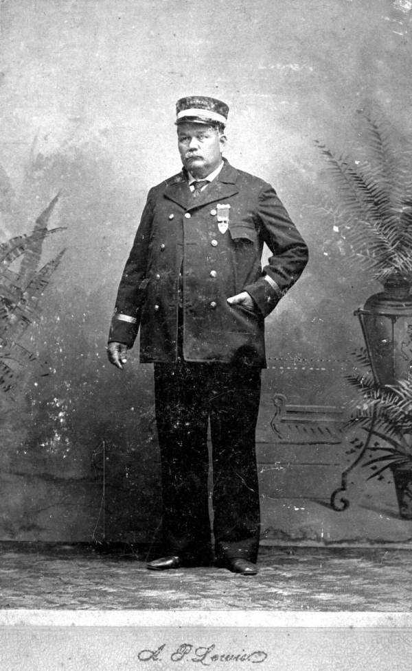 Captain William Henry Harrison was the Hart Line captain for the Ocklawaha River Steamers in the 1890s.