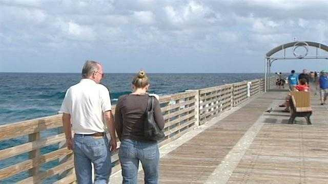 Fishermen and business owners alike are glad the Lake Worth Pier has reopened.