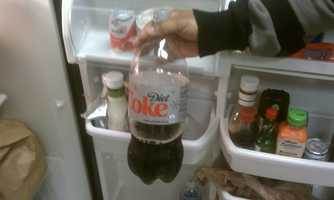 The worst part about keeping sodas in your fridge is after you break the seal or pop the top. If you don't finish the drink within days of opening it, the suds will slowly dissipate. Then you're left with a flat soda.