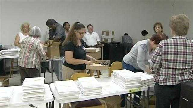 State audit teams reviews voting procedures
