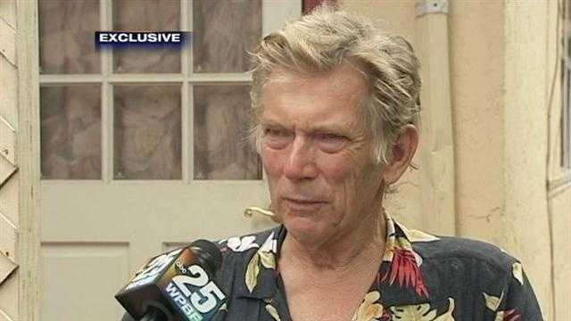Thomas Painter, 64, says he was robbed by a man who helped him getting off a PalmTran bus in West Palm Beach.