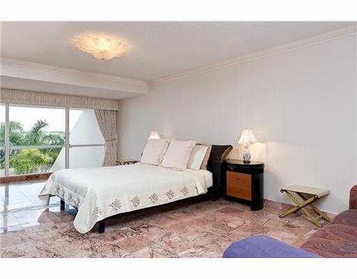 Master bedroom overlooks the ocean as well and measures 24 x 13.