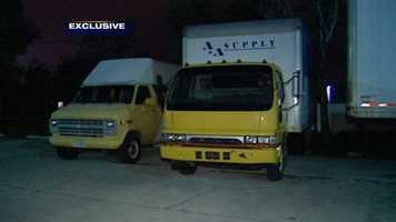 Investigators are trying to figure out who stole three trucks from a supply company in Port St. Lucie on Nov. 18.