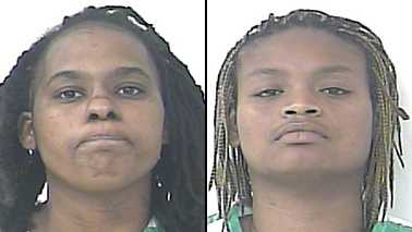 Ashley Anderson (left) and Shautaka Goode are charged with grand theft.