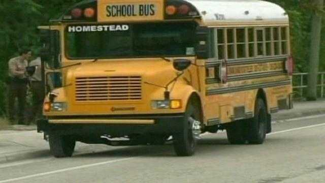 A 13-year-old girl died after she was shot by another student on a school bus, Miami-Dade police say.