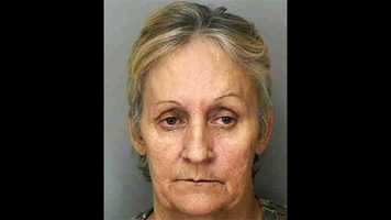 Sheree Peters is accused of killing her husband in their central Florida home, then living in the house with his dead body for two weeks.