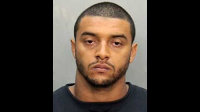 Miami Dolphin Jonathon Amaya was arrested and accused of trying to choke a taxi driver.