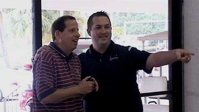 Chris Ninos was surprised by his bosses with a new car in early December. Find out why they gave it to him right here.